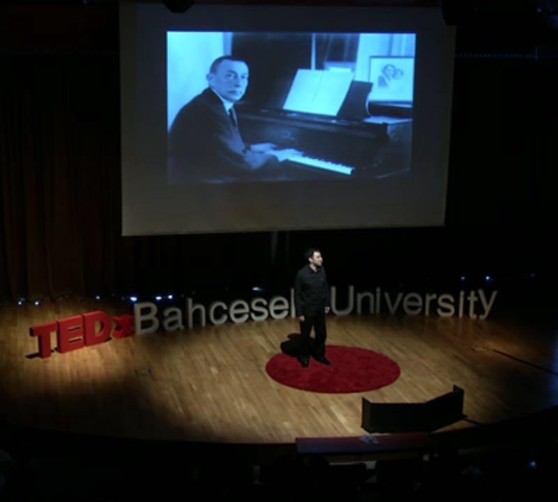 İstanbul, TEDx Bahçeşehir Üniversitesi – Liderlik ve Shakespeare Konuşması
